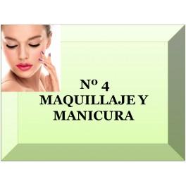 Nº 4  MAQUILLAJE Y MANICURA