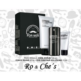 ANTIEDAD FOR MEN+CONTORNO DE OJOS+EXFOLIANTE